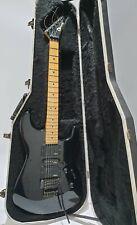 Vintage 1989 Charvel model HSH electric guitar with original hard case