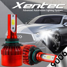 XENTEC LED HID Headlight Conversion kit 9006 6000K for 1988-1988 BMW 325