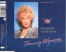 TAMMY WYNETTE - Stand by your man CD SINGLE 3TR UK (EPIC) 1991