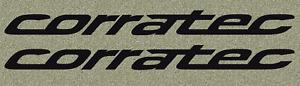 CORRATEC Aufkleber Rad Bike MTB Decal Sticker Set mit 2 Stück