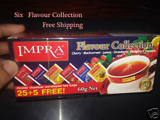 SIX FLAVOUR COLLECTION IMPRA TEA FREE POSTAGE 30 BAGS