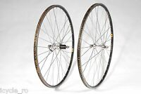 Ambrosio Excellence Bicycle Tubular Wheelset With Shimano Ultegra 6500 Hubs 32H
