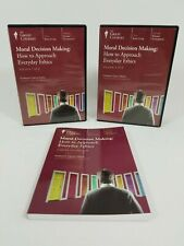 Great Courses ~ Moral Decision Making ~ Everyday Ethics ~ CD's & Guidebook
