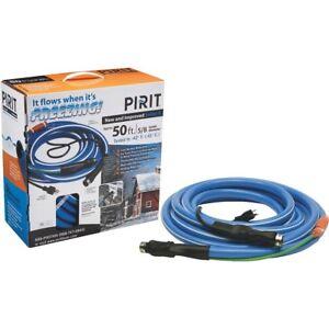Pirit 5/8-Inch Diameter x 50-Feet Long Heated Water Hose - New in Box