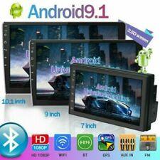 2Din 7'' Android 9.1 Autoradio Navi GPS + Telecamera Bluetooth WIFI USB FM 1+16G