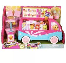NEw Shopkins Glitzi Ice Cream Truck w/4 Exclusive Glitz Shopkins - Rare