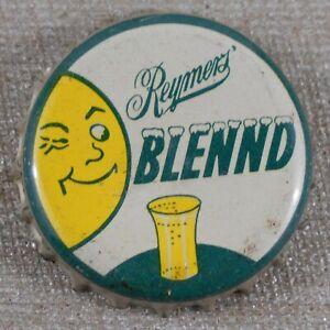 Vintage 1940's Reymer's Blennd Pittsburgh, PA Soda Cork Lined Bottle Cap
