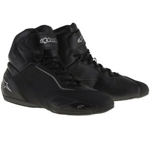 Alpinestars Faster 2 Motorcycle Lightweight Touring Shoes - Black