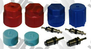 A/C System Valve Core and Cap Kit Global 1311575