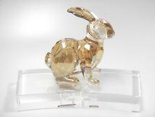 Rabbit Chinese Zodiac - Golden Asian Year 2018 Swarovski Crystal 5374951