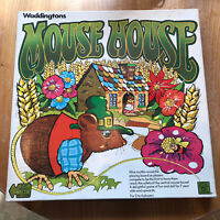 Mouse House, Waddingtons Vintage Board Game 1977 Complete