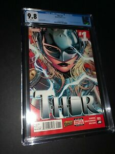 Thor #1 CGC 9.8 1st Appearance Jane Foster as Thor