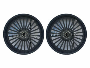 Royal Enfield Classic 500 Parado D1 Front & Rear 26 Spoke Black Alloy Wheel Rims