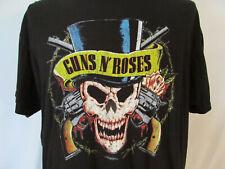 Guns N' Roses Band Mens Size XL (?) Black Tee Shirt Short Sleeve Bravado Brand