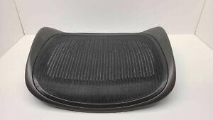 Black OEM Herman Miller Classic Aeron Seat Pan Replacement Size B