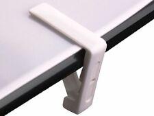Pince de Table 4 Teilig Blanc Jusqu'à 46 Mm. Épais Stable Nappe Jardin, Terrasse