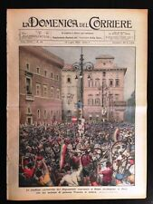 La Domenica del Corriere 17 luglio 1932 Mussolini Brasile Toscana