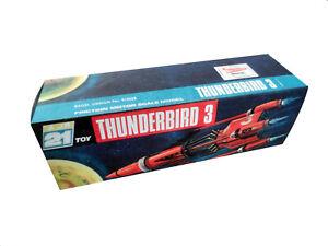J. Rosenthal JR21 Thunderbird 3 Friction Vehicle Repro Box