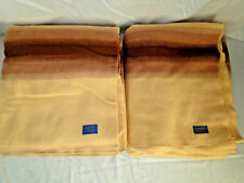 New listing Pendleton Camp Blanket Two Twin Blankets 84x68
