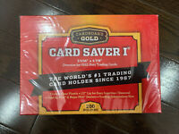 Cardboard Gold PSA BGS SGC Graded Card Saver 1 - 200 Ct Case Holders SHIPS NOW