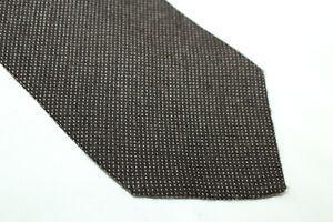 GIORGIO ARMANI Wool tie Made in Italy F17959