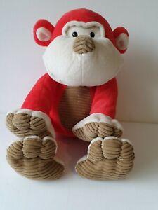 Animal Adventure Red Monkey Soft Toy Plush Toy Animal Approx  30cm Sitting