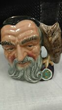 Royal Doulton MERLIN D6536 Character Toby Jug  Made in England F316 QQ