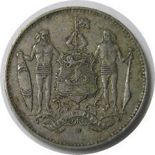 elf British North Borneo  1 Cent 1935 H World War II