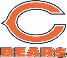 Chicago Bears NFL Decal/Sticker