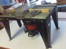 "Vintage Sears/Craftsman 1 1/2 HP ROUTER &  18""x 13""x 11"" Router Table PRE-OWNED"