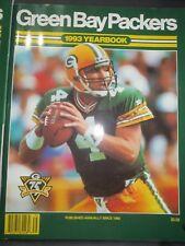 1993 GREEN BAY PACKERS FOOTBALL YEARBOOK - BRETT FAVRE #4