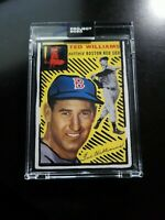 Topps PROJECT 2020 Card 246 - 1954 Ted Williams by Joshua Vides - PR 2150