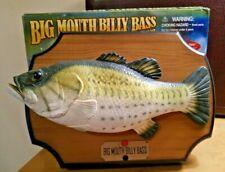 Big Mouth Bill Bass - Singing Fish Decor - by Gemmy - Works