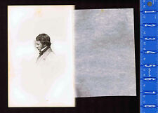 Alexander Smith -Scottish Poet -Isle of Skye 1861 Steel Engraved Print