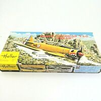Heller Fighter Plane North American T6G Texan 1/72 Scale Model Kit #079