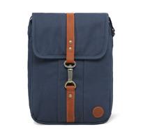Timberland Herren Tasche A1CIF Walnut Hill - Small ITEMS Bag Canvas Kelp Blau