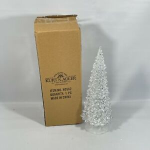 "Kurt Adler 12.25"" Led Light Tree Battery-Operated Tablepiece"