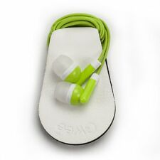 Set of 2 Pieces - Gwee Sport Guppy Headphones Cord Wrap/Screen Cleaner - White