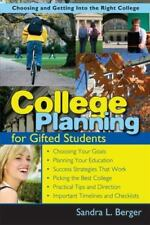 College Planning for Gifted Students: Choosing & Getting into the Right College