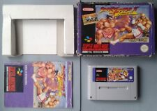 JUEGO SUPER NINTENDO SNES STREET FIGHTER II TURBO COMPLETO BOXED CIB PAL ESPAÑA