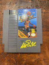 Magic Johnson Signed NES Nintendo Game Beckett BAS Coa Lakers Autographed