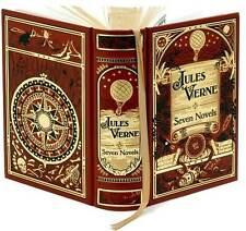 Jules Verne: Seven Novels (Leatherbound Classics)