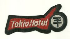 RARE / PATCH ECUSSON BRODERIE : TOKIO HOTEL / COMME NEUF - LIKE NEW