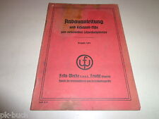 Industrial Spare Parts List Fella Turboheuer Type Th 2 D June 1968 Special Summer Sale
