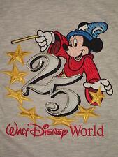 #5665 DISNEY MICKEY MOUSE DISNEY WORLD CASUAL T SHIRT MEN'S MEDIUM GOOD USED