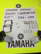 YAMAHA VIRAGO XV 750-1100-1100 MIKUNI CARBURETOR CARB ULTIMATE  REPAIR KIT