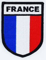 FRANCE FLAG INSIGNIA MILITARIA OPEX FLAG PATCHES PATCH MILITARY ARMY
