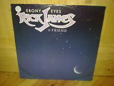 """RICK JAMES + FRIEND ebony eyes 12"""" MAXI 45T"""