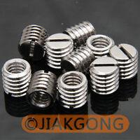 "10pcs 1/4"" Female to 3/8"" Male screw Adapter TN-2"