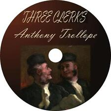 The Three Clerks, Anthony Trollope Relationship Adventure Audiobook on 1 MP3 CD